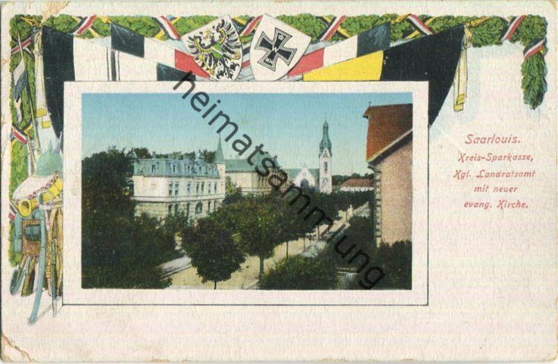 Saarlouis - Kreis-Sparkasse - Landratsamt - Feldpost 0