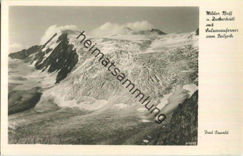 Stubaier Alpen - Zuckerhütl - Wilder Pfaff - Foto-Ansichtskarte 0