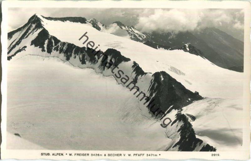 Stubaier Alpen - Wilder Freiger - Brecher - Wilder Pfaff - Foto-Ansichtskarte 0