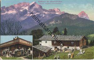 Eckbauer bei Partenkirchen - Pächter Bergführer Schweizerbartl