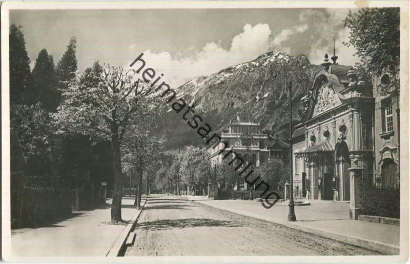 Bad Reichenhall - Kurhaus mit Kaffee Flora - Foto-Ansichtskarte - Verlag Karl Ermisch Berchtesgaden