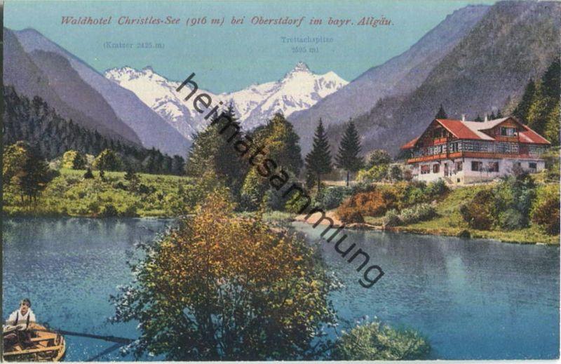 Waldhotel Christles See Bei Oberstdorf Verlag Purger Co München
