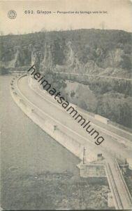 4845 Jalhay - Gileppe - Perspective du barrage vers le lac