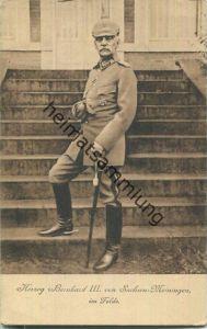 Herzog Bernhard III. von Sachsen Meiningen