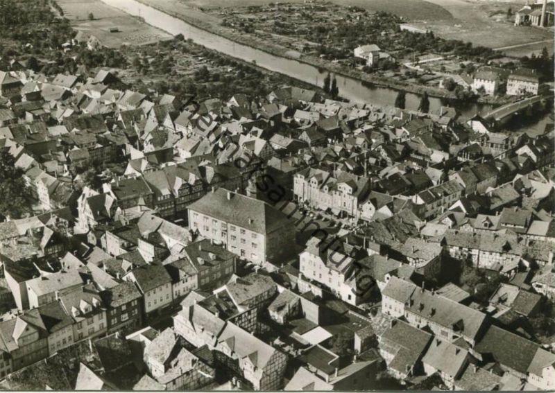 Witzenhausen - Luftaufnahme - Foto-AK Grossformat - Verlag Schöning & Co Lübeck