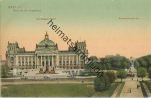 Berlin - Reichstagsgebäude - Brandenburger Tor