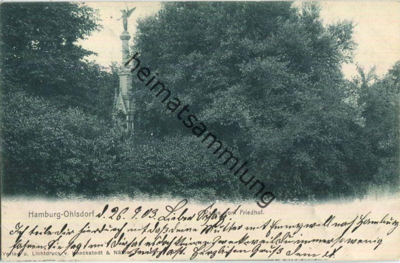 Hamburg-Ohlsdorf - Friedhof - Verlag Knackstedt & Näther Hamburg