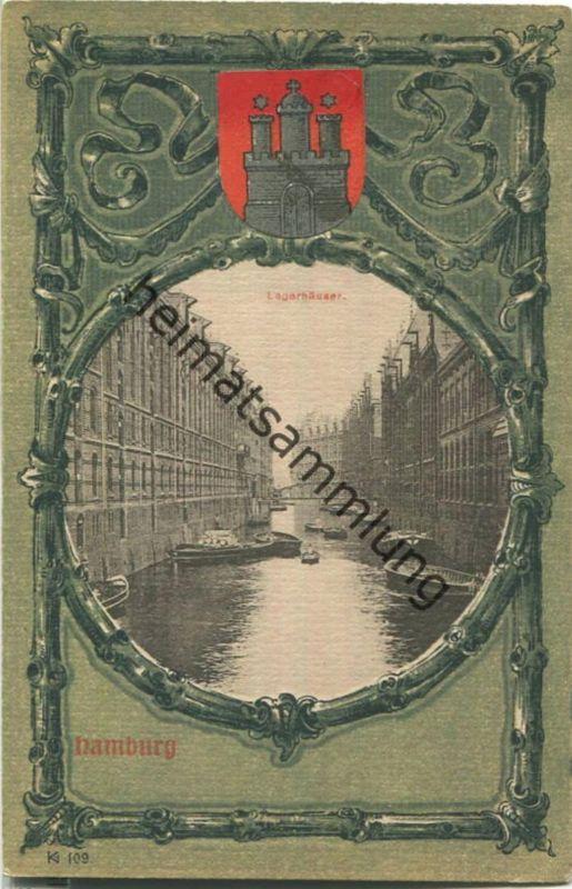 Hamburg - Lagerhäuser - Verlag Knackstedt & Näther Hamburg