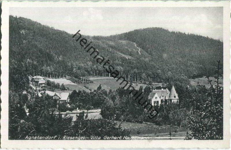 Jagniatkow - Agnetendorf - Villa Gerhart Hauptmann