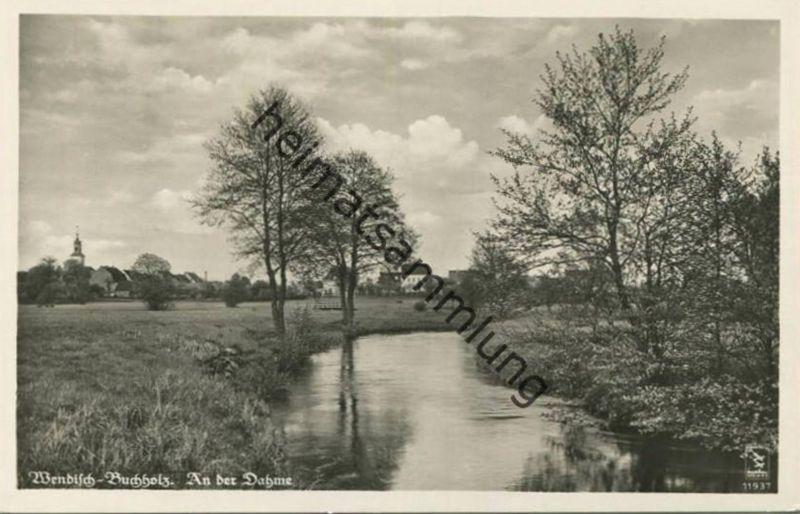 Wendisch-Buchholz - An der Dahme - Foto-AK 30er Jahre - Verlag Klinke & Co. Berlin