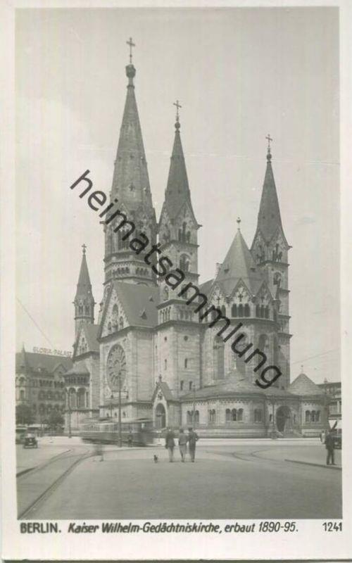 Berlin - Charlottenburg - Charlottenburger Brücke - Foto-AK 30er Jahre - Verlag Ludwig Walter Berlin