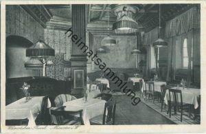 Münster i. W. - Cafe Roxel - Besitzer Wilhelm Grote - Verlag E. Krahn Münster