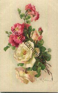 Catharina C. Klein - Blumenstrauss - Verlag G. O. M. 1400