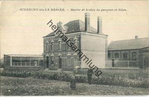 62149 Givenchy-les-la-Bassee - Mairie et ecoles de garcons et filles