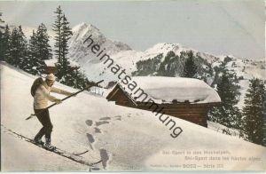Ski-Sport in den Hochalpen - Verlag Phototypie Co. Neuchatel