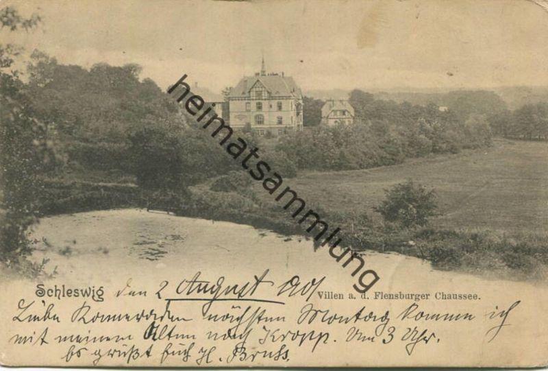 Schleswig - Villen an der Flensburger Chaussee - Verlag Knackstedt & Näther Hamburg
