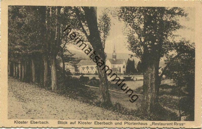 Eberbach - Blick auf Kloster Eberbach