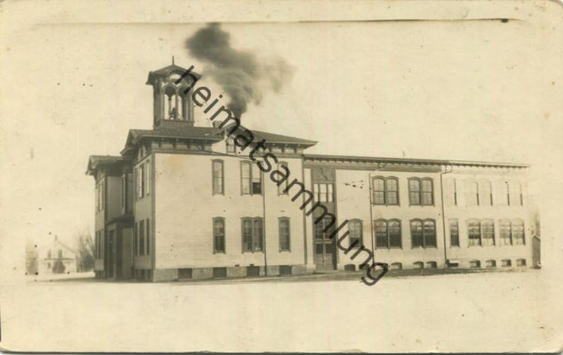 Minnesota - Elk River - Schule gel. 1913