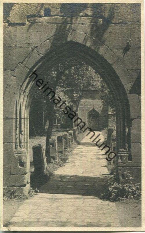 Calw - Tordurchblick - Foto-AK ohne Verlagsangabe ca. 1930