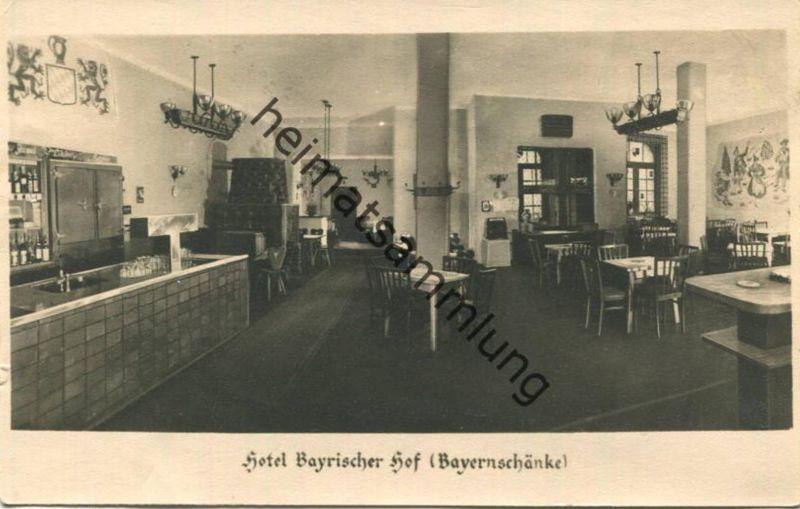 Berlin-Mitte - Hotel Bayrischer Hof - Bayernschänke - Inhaber Bruno Halbhuber und Gertrud Siegling - Potsdamer Platz - F