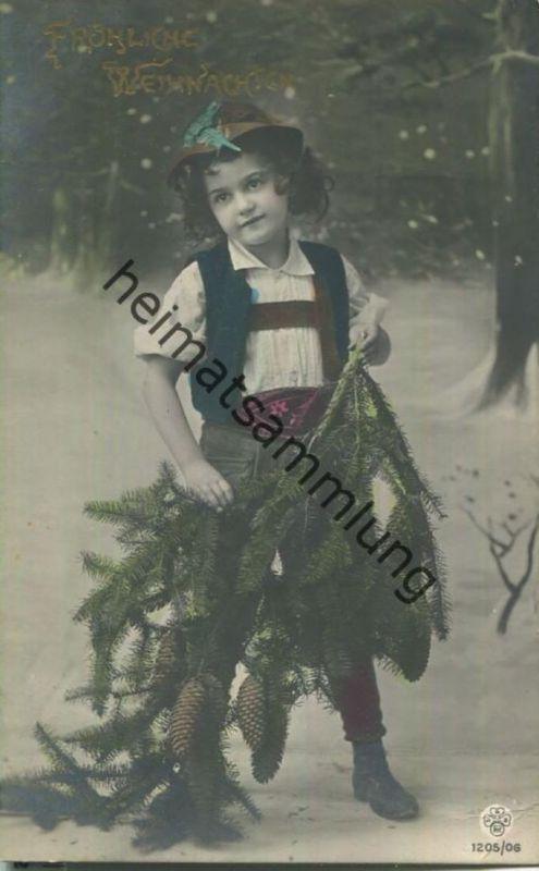 Weihnachten - Kind in Tracht - Lederhose