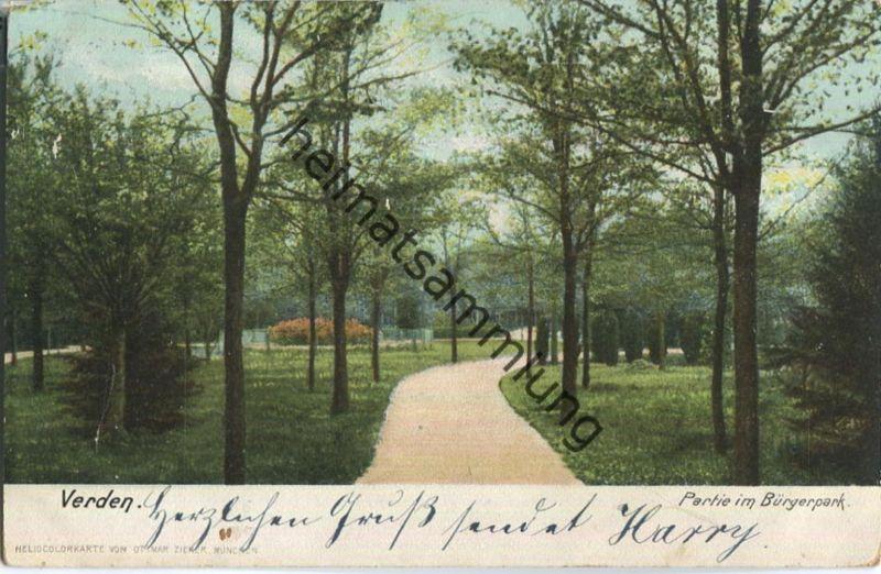 Verden - Bürgerpark - Verlag Ottmar Zieher München