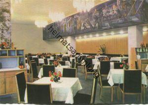 Magdeburg - Hotel International - Restaurant Moskwa - AK-Grossformat 60er Jahre - VEB Bild und Heimat Reichenbach