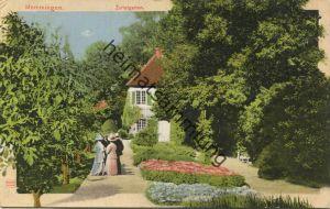Memmingen - Zollergarten - Verlag Dr. Trenkler Co. Leipzig - gel.