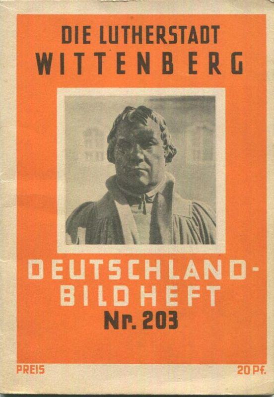 Nr. 203 Deutschland-Bildheft - Wittenberg