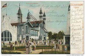 Düsseldorf - Ausstellung 1902 - Gutehoffnungshütte