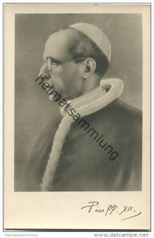 Papst Pius XII - Foto-AK - Österreichischer Kunstverlag Graz