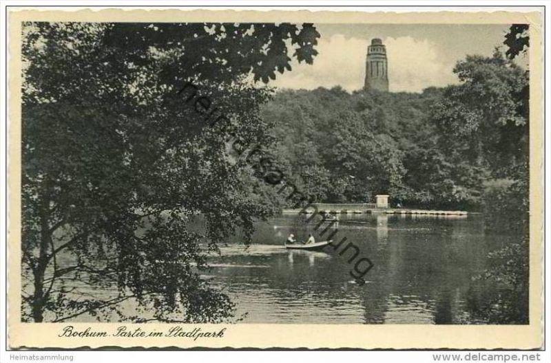 Bochum - Partie im Stadtpark 30er Jahre