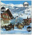 Lenk 1971 - Faltblatt mit 30 Abbildungen - Hotelliste - Ortsplan