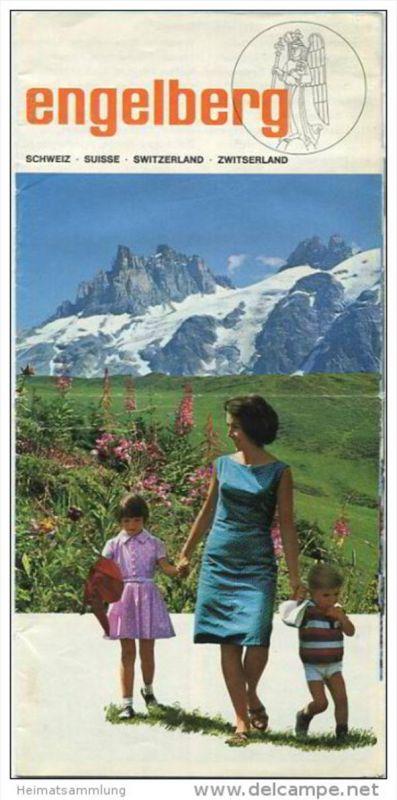 Engelberg - 8 Seiten mit 24 Abbildungen - Reliefkarte/Berann