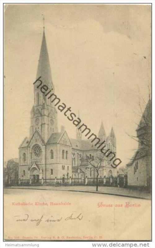Berlin-Kreuzberg - Katholische Kirche Hasenheide