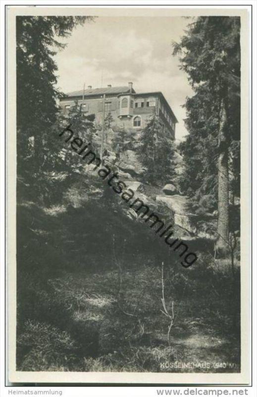 Fichtelgebirge - Kösseine - Kösseinehaus