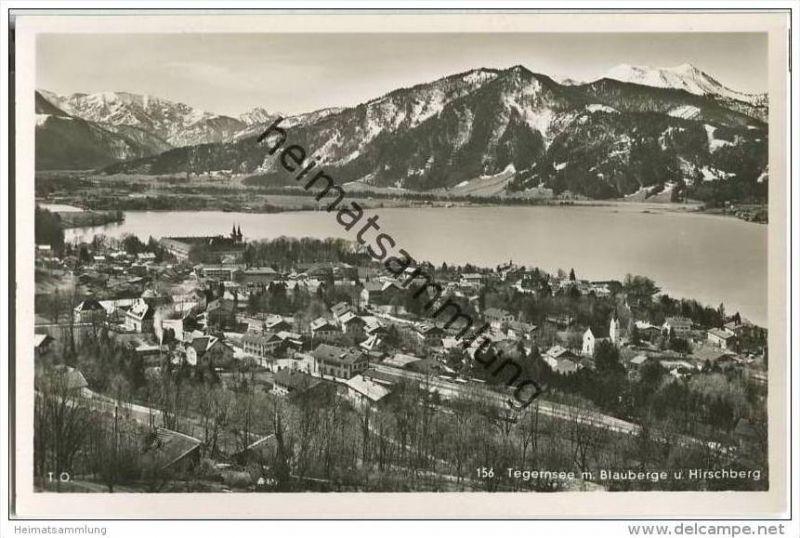 Tegernsee - Foto-AK 30er Jahre