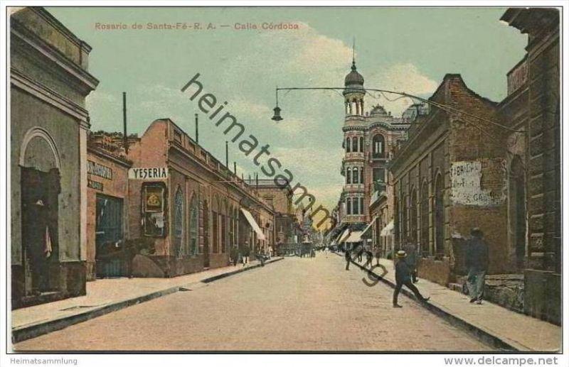 Rosario de Santa-Fe - R. A. - Calle Cordoba