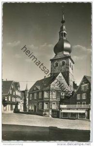 Remscheid-Lennep - Alter Markt mit evangelischer Kirche