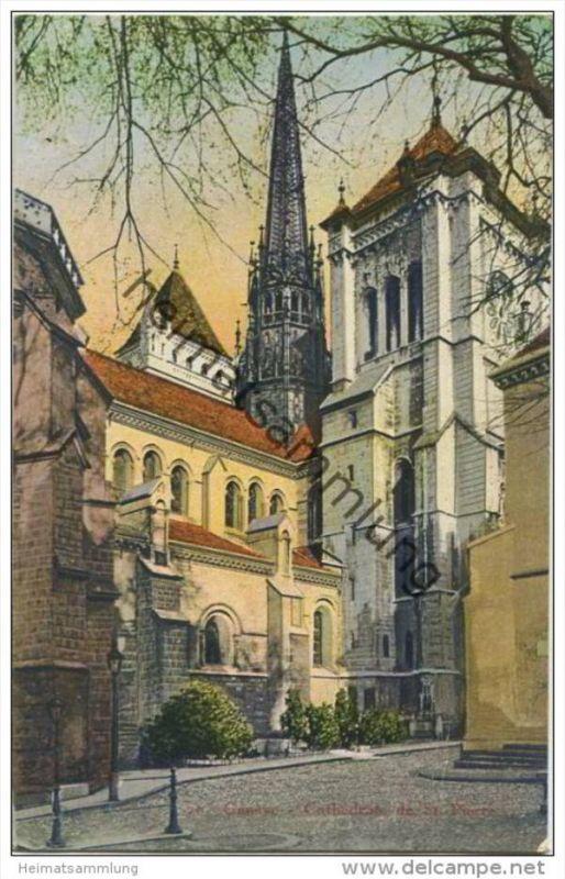 Geneve - Cathedrale de St. Pierre