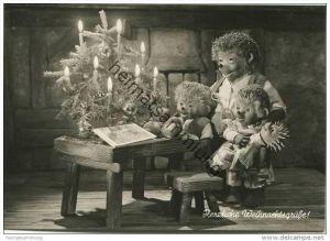 Mecki - Herzliche Weihnachtsgrüße - Nr. 101 - Verlag August Gunkel Düsseldorf
