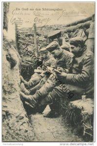 Ein Gruss aus dem Schützengraben - Serie: Das Deutsche Heer - Feldpost