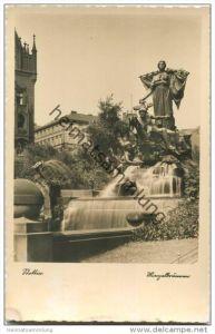 Stettin - Manzelbrunnen - Foto-AK