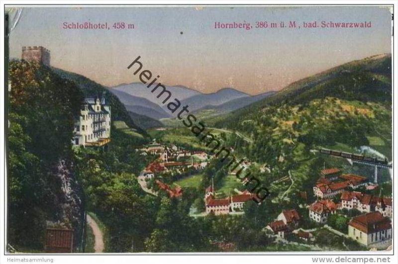 78132 Hornberg - Gesamtansicht - Schlosshotel