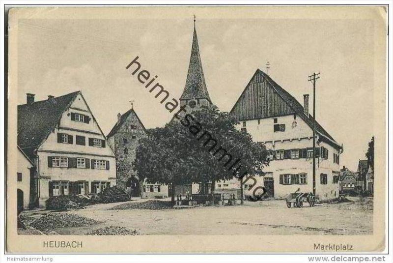 Heubach - Marktplatz