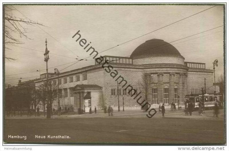 Hamburg - Neue Kunsthalle - Foto-AK