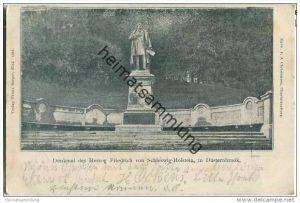 Kiel-Düsternbrook - Denkmal Herzog Friedrich von Schleswig-Holstein
