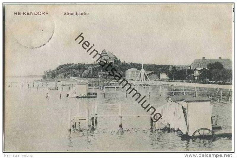 Heikendorf - Strandpartie