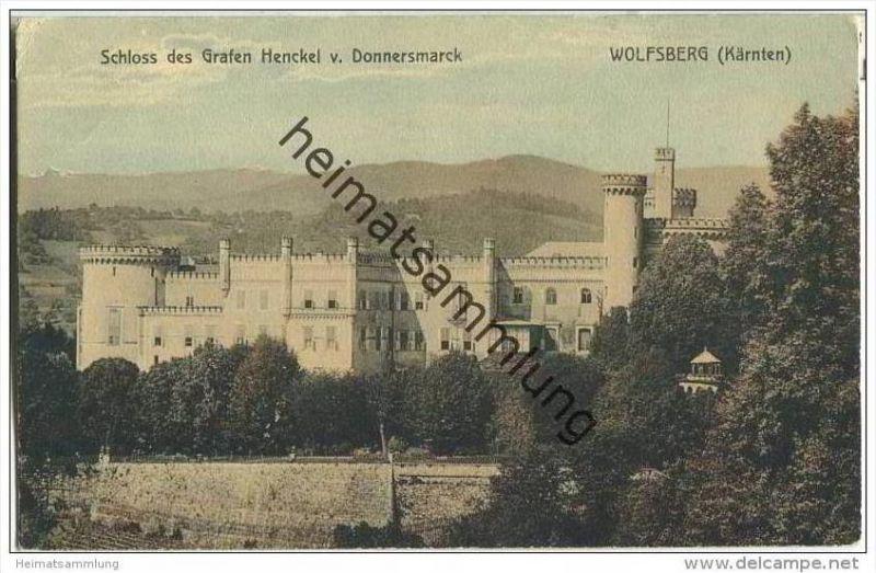 Wolfsberg - Schloss des Grafen Henckel von Donnersmarck