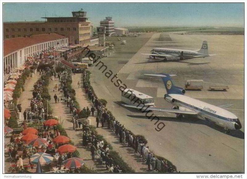 Stuttgart - Flughafen - Echterdingen - AK Grossformat